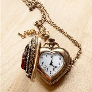 Bedazzled Pocket Watch • Victorian Style